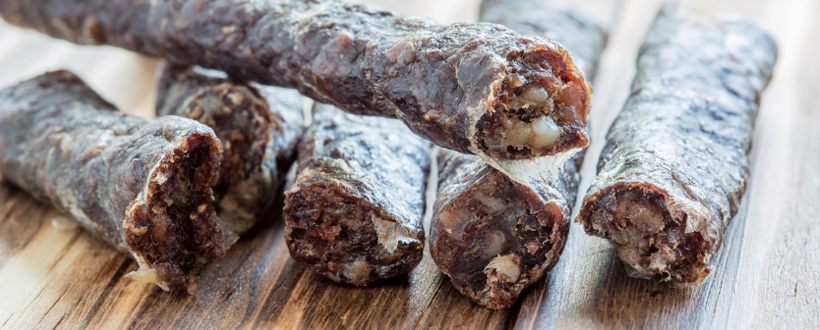 As mentioned previously, any good quality wors of the thin variety can be hung out to dry. This particular recipe however, dates right back to the era ...